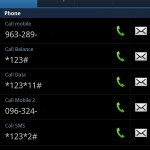 Airtel Android contact screenshot
