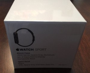 Apple Watch Sport 42mm Black-4