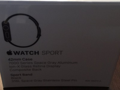 Apple Watch Sport 42mm Black-featured image