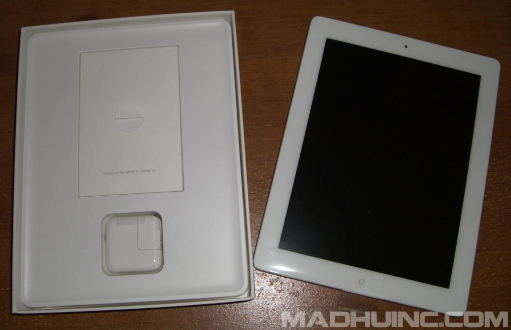Apple iPad 2 White 16GB Wi-Fi (MC979LL/A) Unboxing