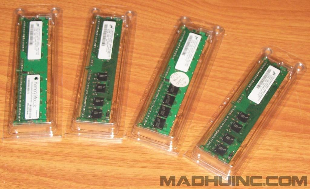512 MB DDR2 Micron PC-4200 533 mhz
