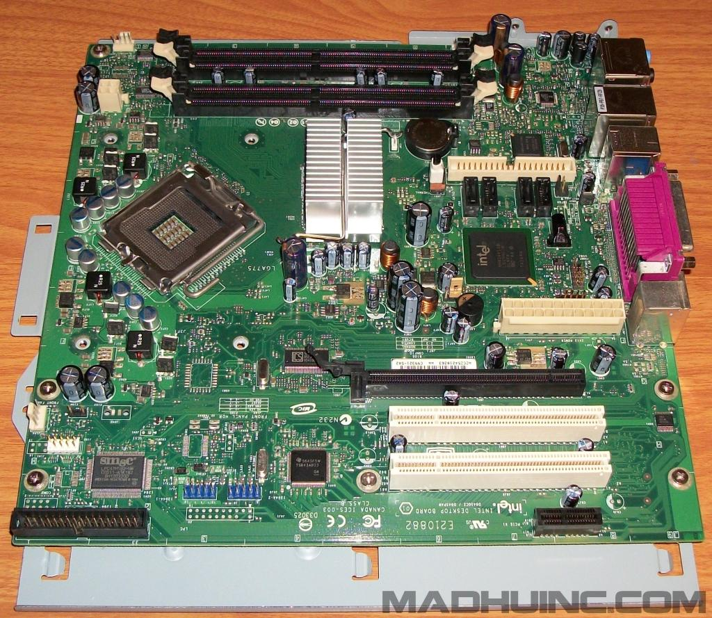 Gateway E-9232T Intel BLKD945GCZL uBTX 775 Motherboard Tray