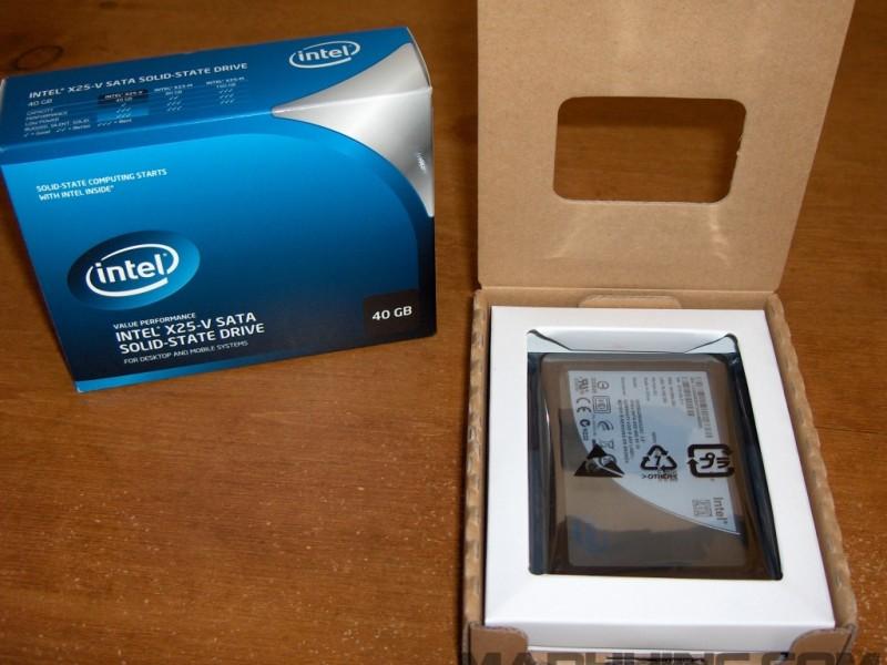 Intel X25-V SSD 40GB Unboxing 3