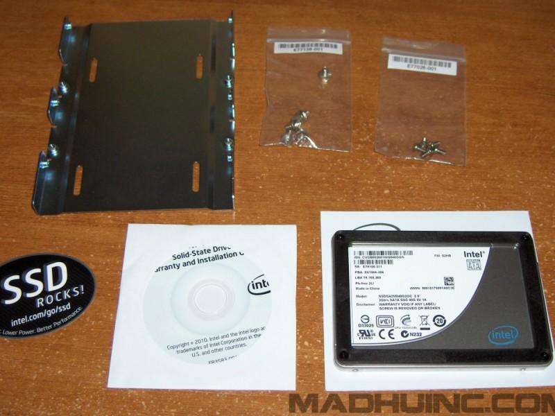 Intel X25-V SSD 40GB Unboxing 6