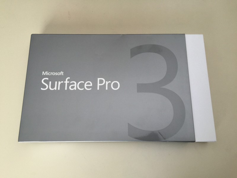 Microsoft Surface Pro 3 512GB Unboxing 1