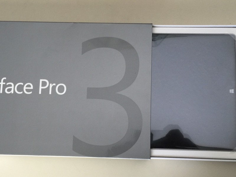 Microsoft Surface Pro 3 512GB Unboxing 2